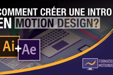 Dans ce tuto, je te montre comment créer une introduction en motion design sur Illustrator et after effect