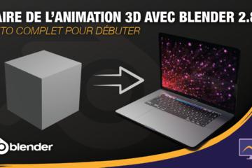 Dans cette nouvelle et première série de la chaine, nous allons voir comment faire de l'animation 3D avec Blender 2.8.